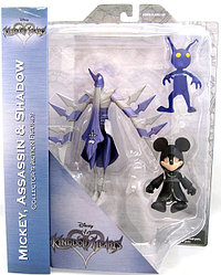 "Diamond Select ""Kingdom Hearts "" Микки в плаще, Ассасин, Тень"