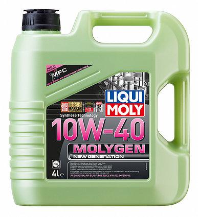 Моторное масло Molygen New Generation 10W-40,4L, LIQUI MOLY