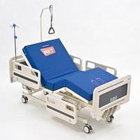 Функциональная кровать для палат, оборудованная винтовыми механическими регулировками ЛЕГО М-1, фото 1