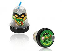 """Жвачка для рук Ninja Slime с трубочкой """"Затерянный мир """", 130 гр. (ящерица)"""