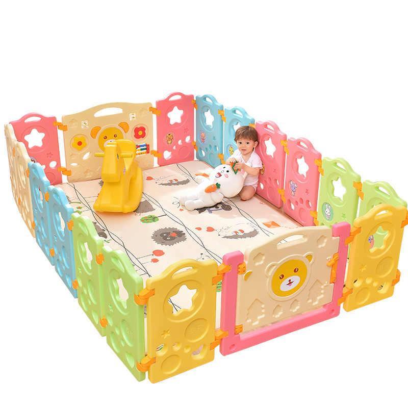 Пластиковый детский забор комплект