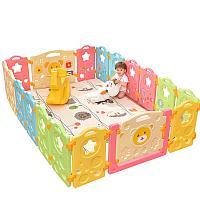 Пластиковый детский забор комплект, фото 1