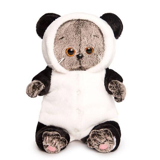 "Мягкая игрушка ""Басик Baby в комбенизоне ""Панда"", 20 см"