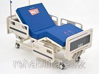 Функциональная медицинская кровать с механическими регулировками положения пластиковых ложементов ЛЕГО М-3