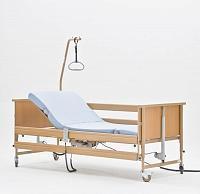 Кровать медицинская функциональная с регулировкой высоты MET TERNA Economic.