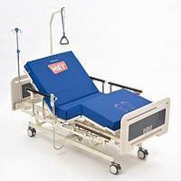 Кровать функциональная медицинская с электрическими регулировками металлического ложа ЛЕГО Е1