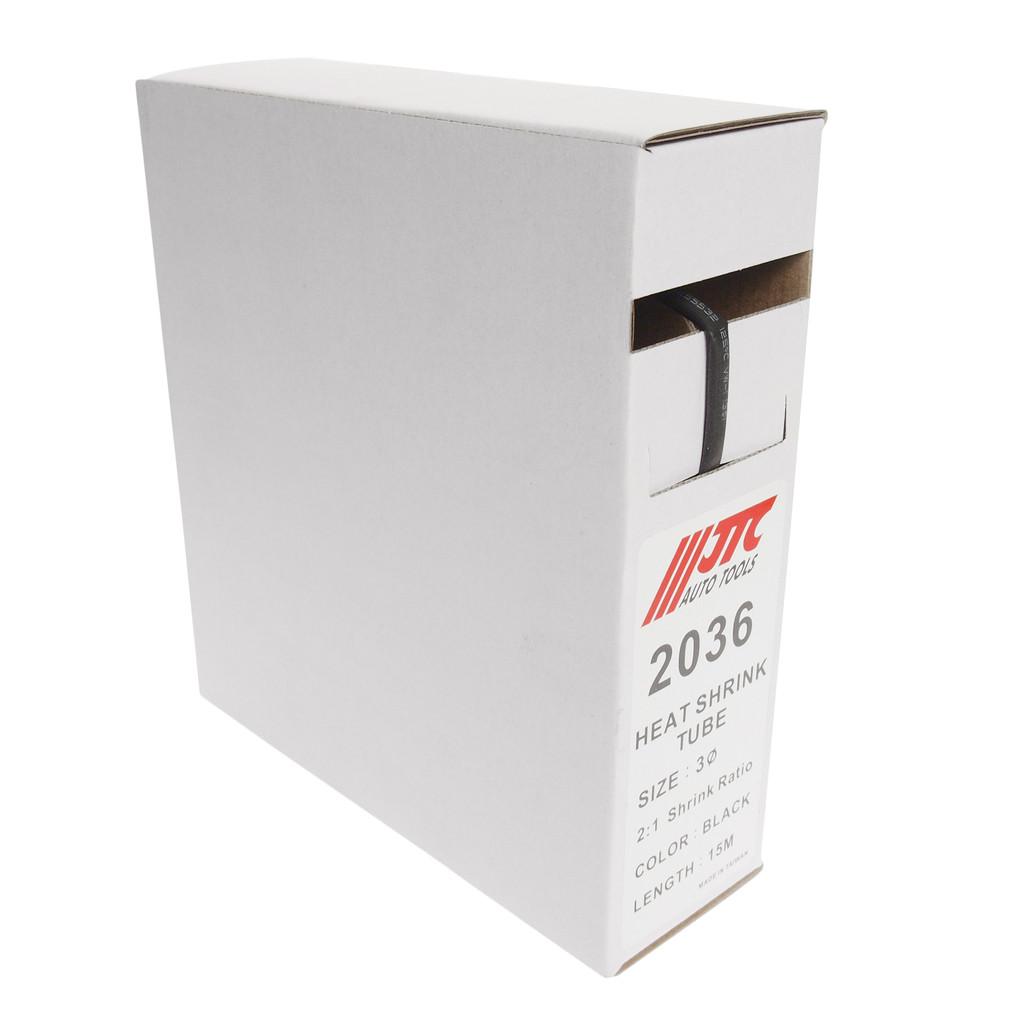 JTC Трубка термоусадочная d=3мм 15м (мини-бокс) JTC