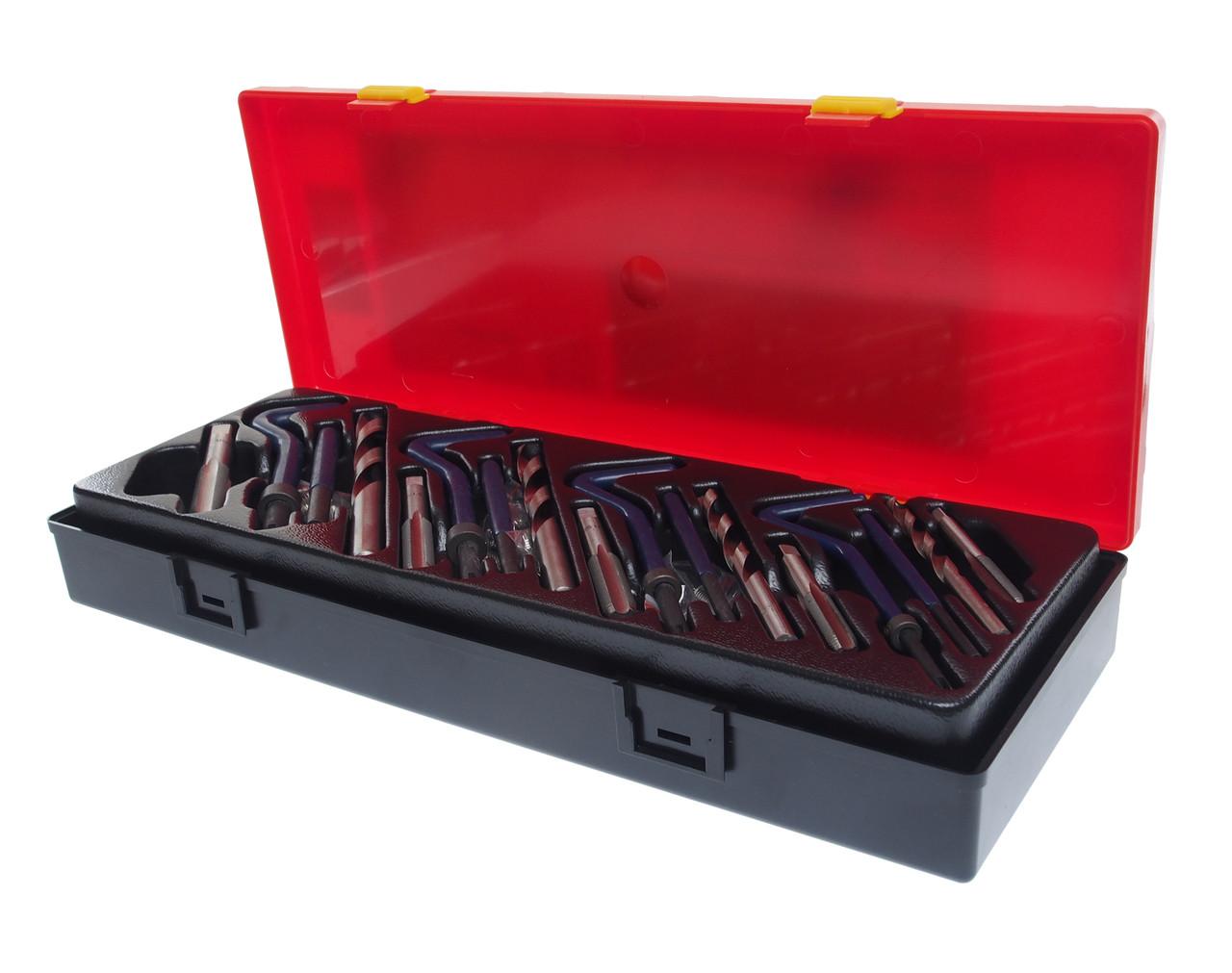 JTC Набор инструментов для восстановления резьбы комбинированный в кейсе JTC