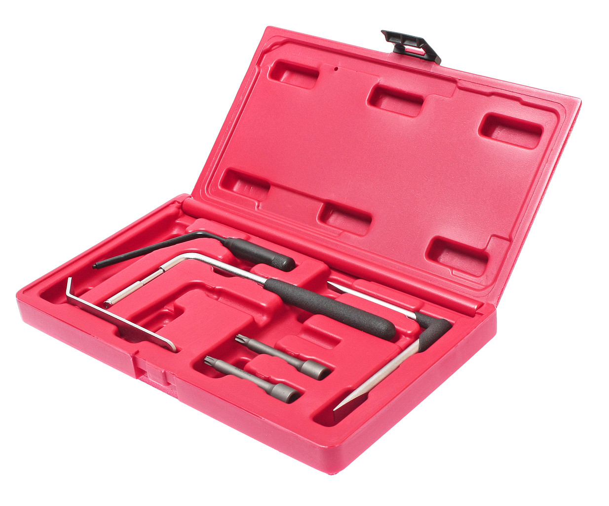 JTC Набор инструментов для демонтажа подушки безопасности водителя 7 предметов в кейсе JTC