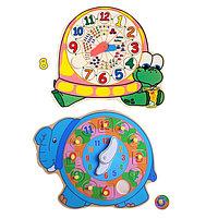 """Часы рамка-вкладыш """"Черепашка/слоник"""", МИКС, фото 1"""