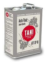 Трансмиссионное масло TANI ATF SP-III4литра