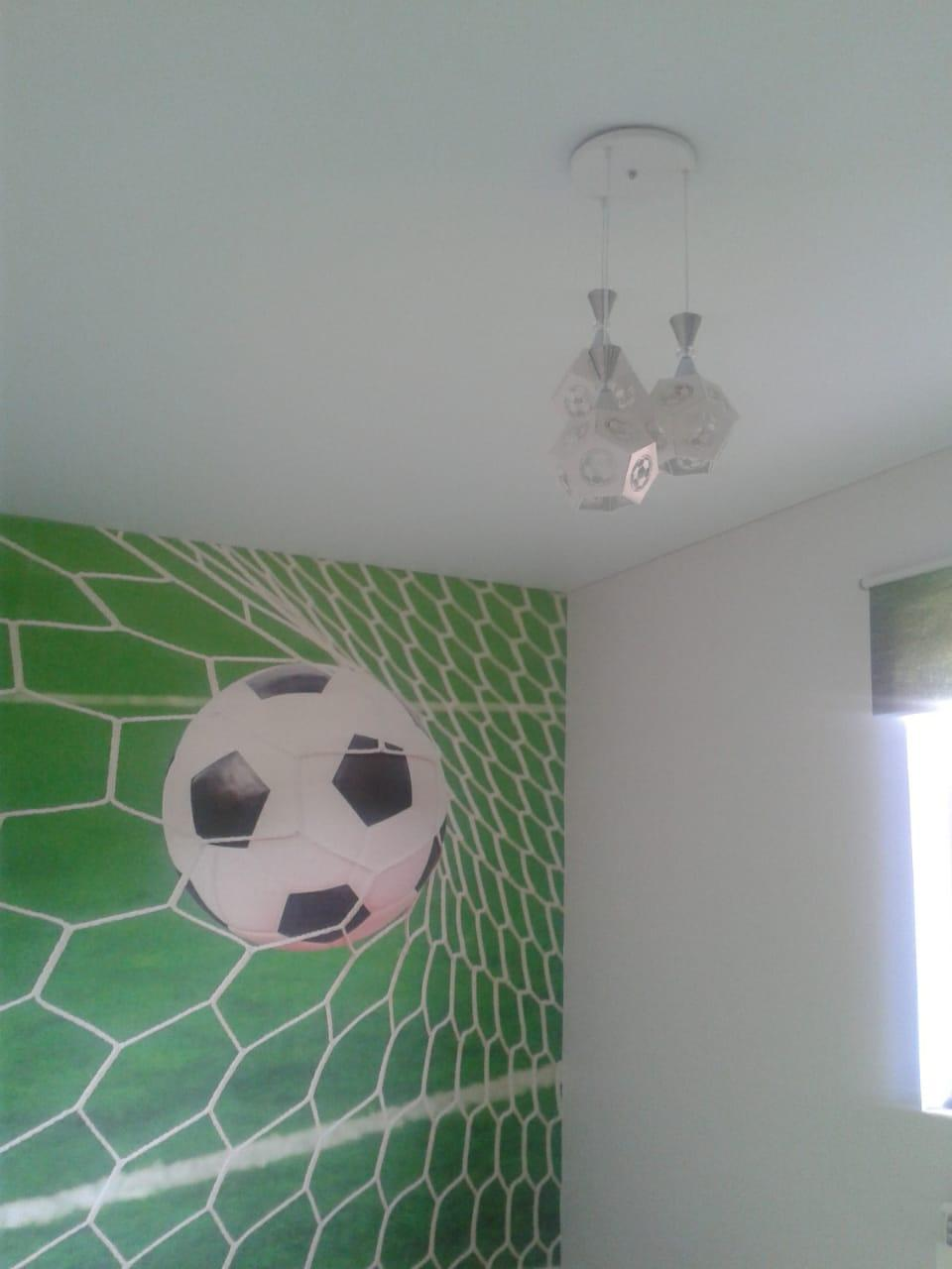 Люстра Футбольный мяч на 3 плафона