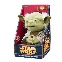Мягкая игрушка Звездные войны Йода плюшевый со звуком, фото 1