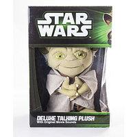 Мягкая игрушка Звездные войны Йода плюшевый 38 см со звуком