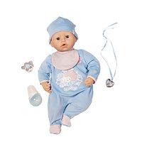 Кукла Бэби Аннабель -мальчик с мимикой, 46 см, кор.