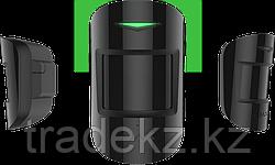 Комбинированный датчик движения и разбития стекла с иммунитетом к животным Ajax CombiProtect, черный