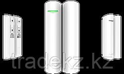 Магнитный датчик открытия с сенсором удара и наклона Ajax DoorProtect Plus, белый