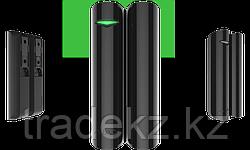 Магнитный датчик открытия с сенсором удара и наклона Ajax DoorProtect Plus, черный