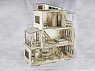 Кукольный домик из фанеры с мебелью., фото 2