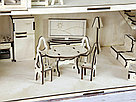 Кукольный домик из фанеры с мебелью., фото 6