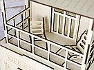 Кукольный домик из фанеры с мебелью., фото 9