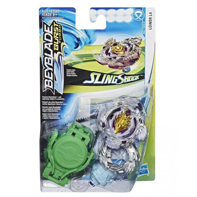 Hasbro Bey Blade Sling Shock Волчок Бейблэйд Luinor L4 D53/TA16-S
