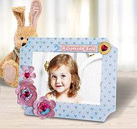 """Фоторамка для декорирования """"Маленькая леди"""" + декор , фото 1"""