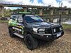 Toyota Land Cruiser 200 2015- Бампер Силовой- IRONMAN 4X4, фото 3