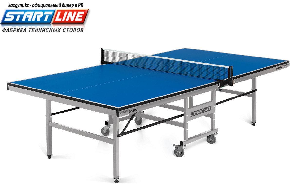 Теннисный стол Start Line Leader 22 мм, без сетки - фото 1