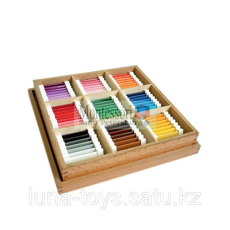 Цветные таблички-ящик 3