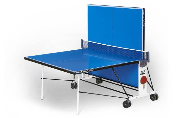 Всепогодный теннисный стол Start Line Compact Outdoor LX с сеткой - фото 3