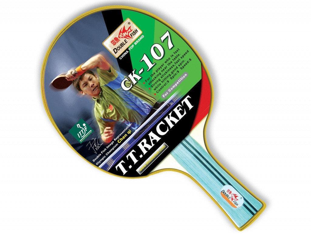 Ракетка для настольного тенниса DOUBLE FISH - СК-107 (ITTF)