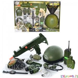Детская игрушка военный набор со звуковыми эффектами