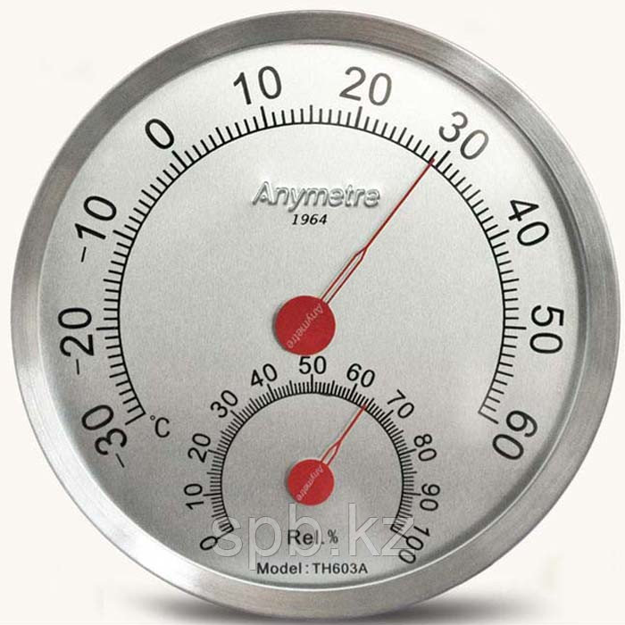 Аналоговый термогигрометр TH603A