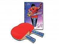 Ракетка для настольного тенниса DOUBLE FISH - 5А-С (ITTF)