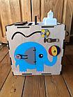 Бизикуб Бизибокс Карусель Smart box Ручная работа Развивающая игрушка, фото 2