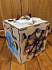 Бизикуб Бизибокс Карусель Smart box Ручная работа Развивающая игрушка. Kaspi RED. Рассрочка., фото 4