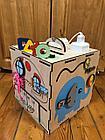 Бизикуб Бизибокс Карусель Smart box Ручная работа Развивающая игрушка. Kaspi RED. Рассрочка., фото 2