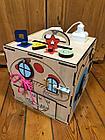 Бизикуб Бизибокс Карусель Smart box Ручная работа Развивающая игрушка. Kaspi RED. Рассрочка., фото 8