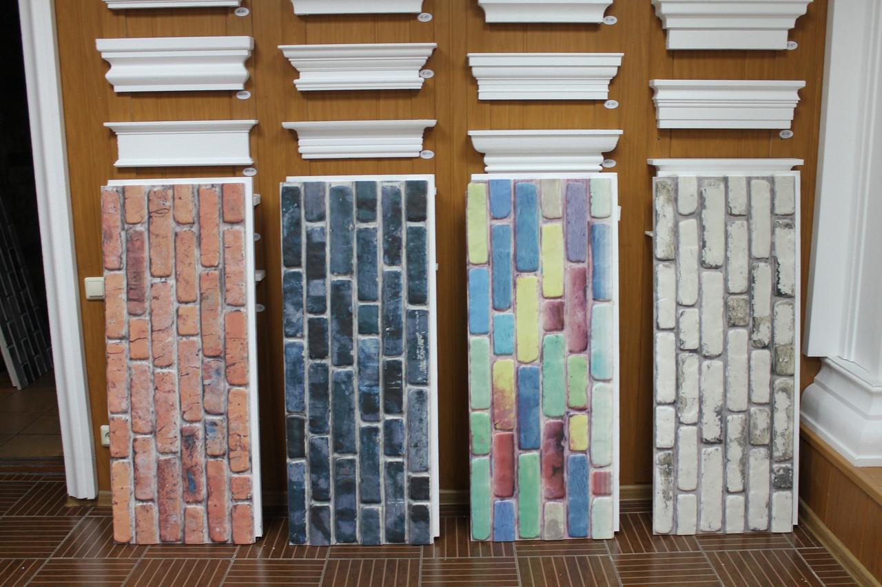 Стеновые интерьерные панели под кирпич