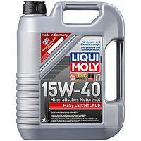 2571 Моторное масло Liqui Moly MOS2-LEICHTLAUF 15W40 5литров