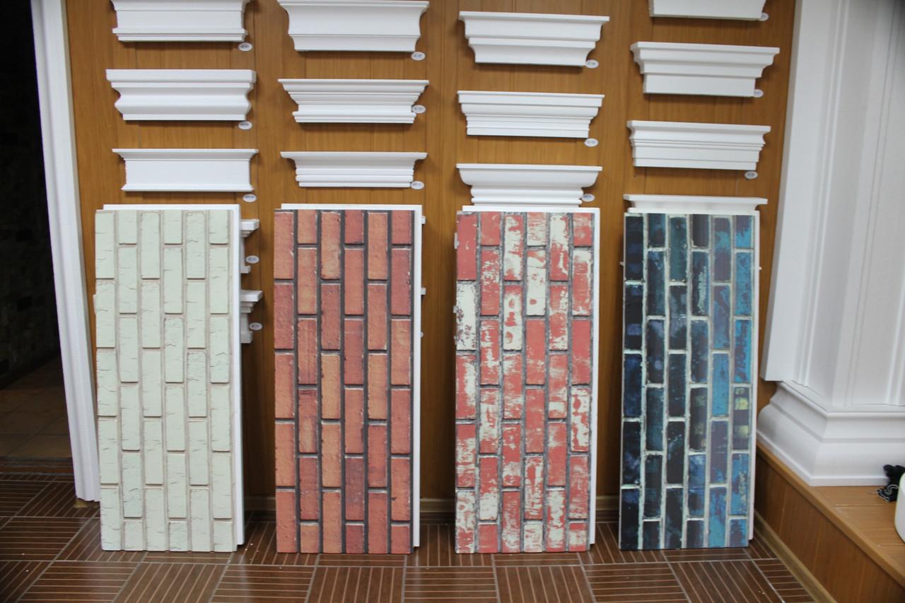 Фасадные панели с имитацией кирпича