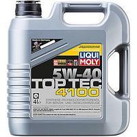 2195 Моторное масло Liqui Moly TOP TEC 4100 5W40 4литра