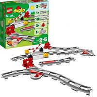 Лего Дупло 10882 Конструктор Рельсы и стрелки по выгодной цене.