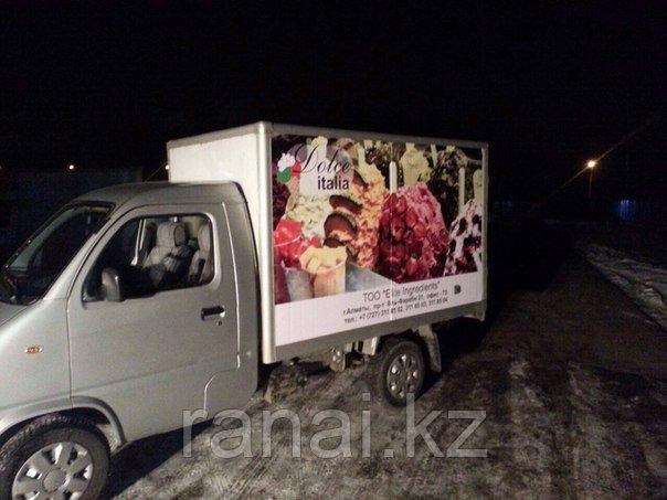 Брендинг транспорта в Алматы