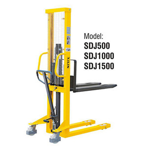 Штабелер ручной гидравлический XILIN SDJ500 0.5т 1.6м
