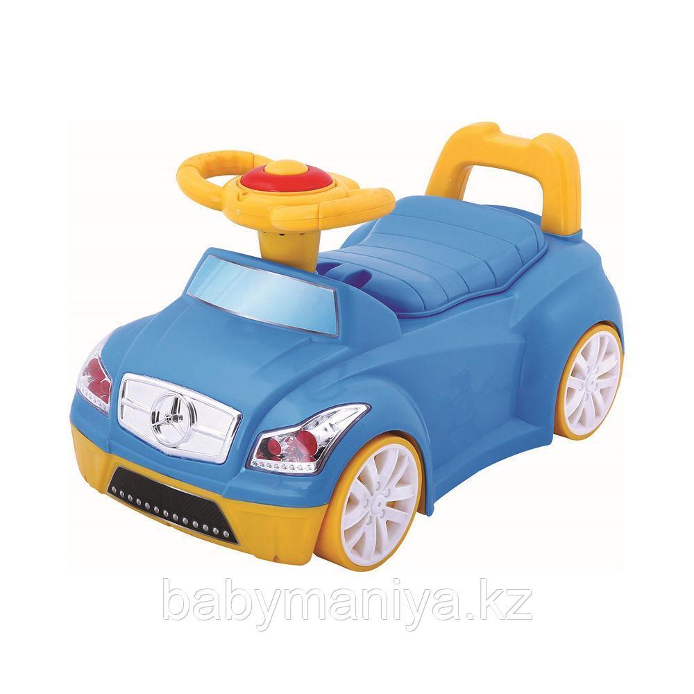 Детский музыкальный горшок Pituso МАШИНКА Голубой BLUE 46*28*26 см