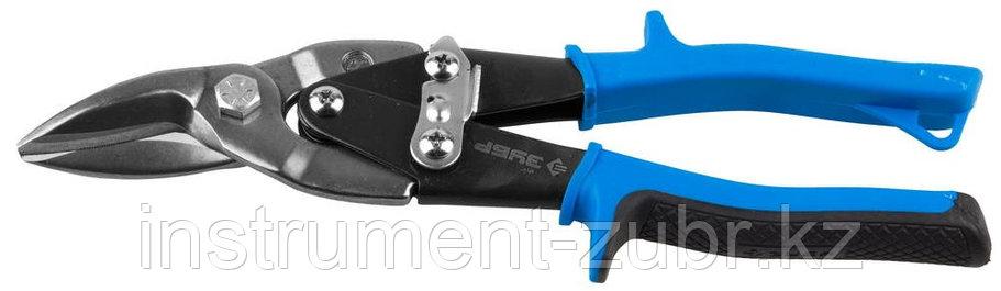 ЗУБР Ножницы по металлу, левые, Cr-V, 250 мм, фото 2