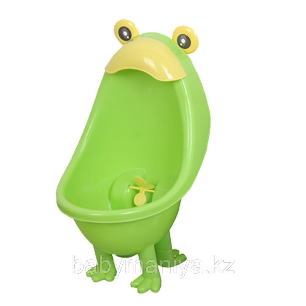 Детский писсуар на ножках Pituso ЛЯГУШОНОК Зеленый GREEN 23*36*20 см