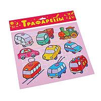 "Трафареты пластиковые ""Наземный транспорт"" 1618"